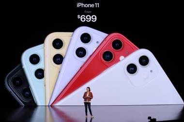 La versión con 64 GB del iPhone 11 costará 699 dólares