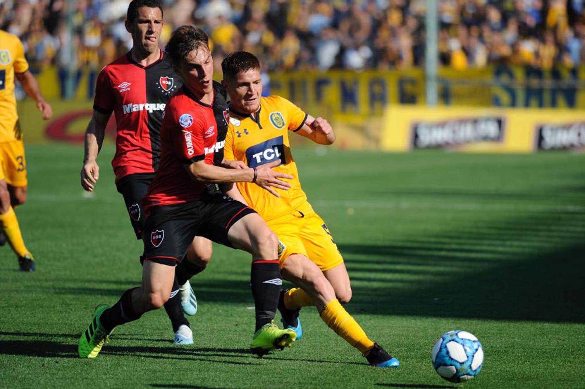 Rosario Central-Newell's, Superliga: dos minutos vibrantes para un 1-1 que resultó justo