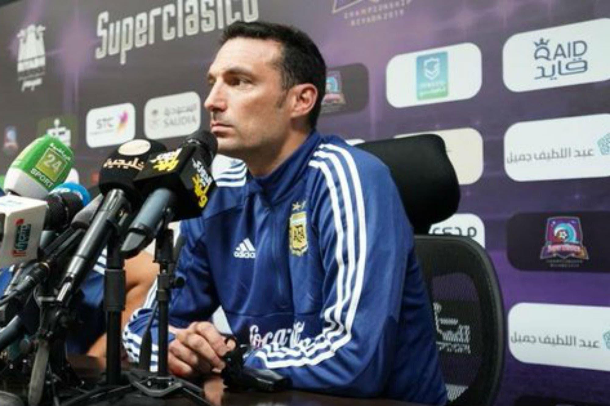 Argentina-Brasil: qué dijo Lionel Scaloni sobre Lionel Messi, el equipo y el esquema preferido para este partido