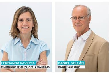 La diputada Raverta será ministra de una nueva cartera y el médico epidemiólogo Gollán será el titular del ministerio de Salud bonaerense