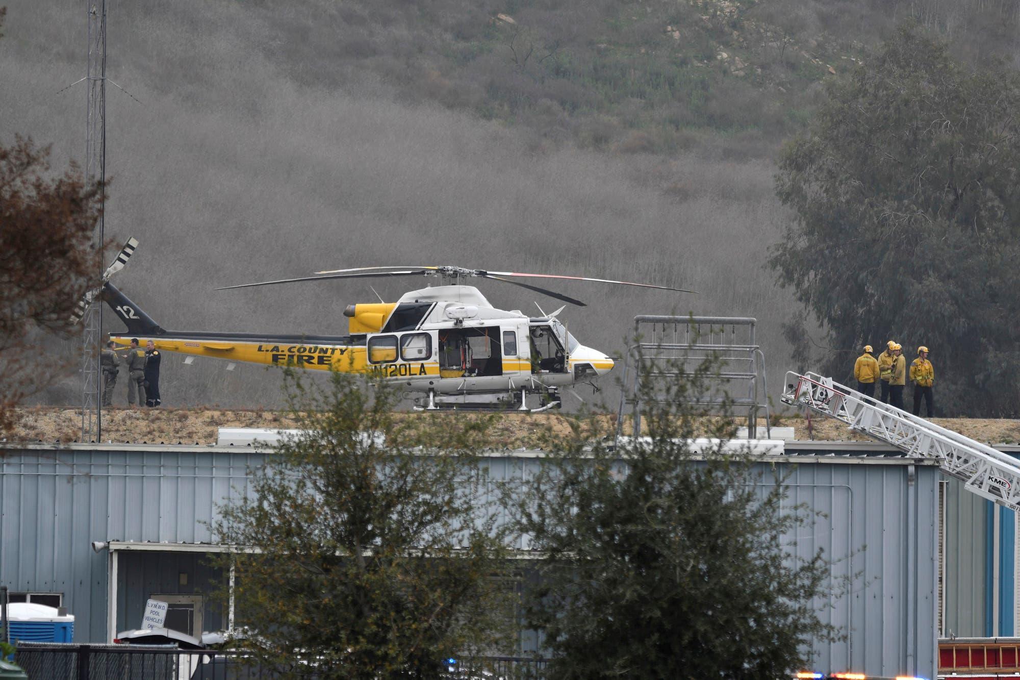 En fotos: el accidente aéreo en el que murió Kobe Bryant