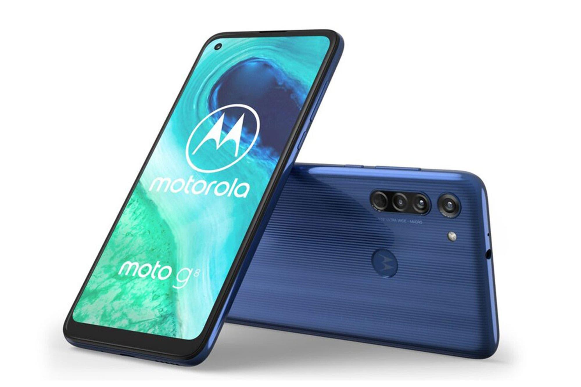 Motorola anunció el lanzamiento en la Argentina de los teléfonos Moto G8 y Moto G8 Power