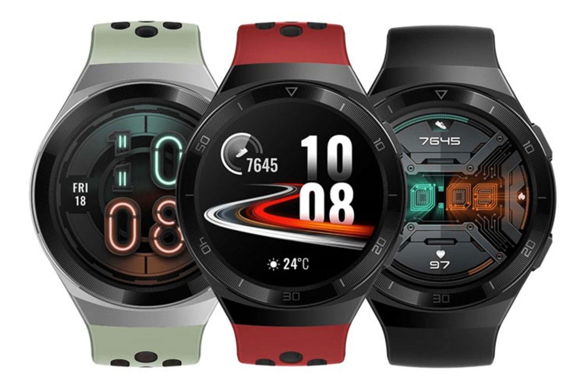 Watch GT 2e: Huawei lanza un nuevo reloj inteligente con dos semanas de autonomía