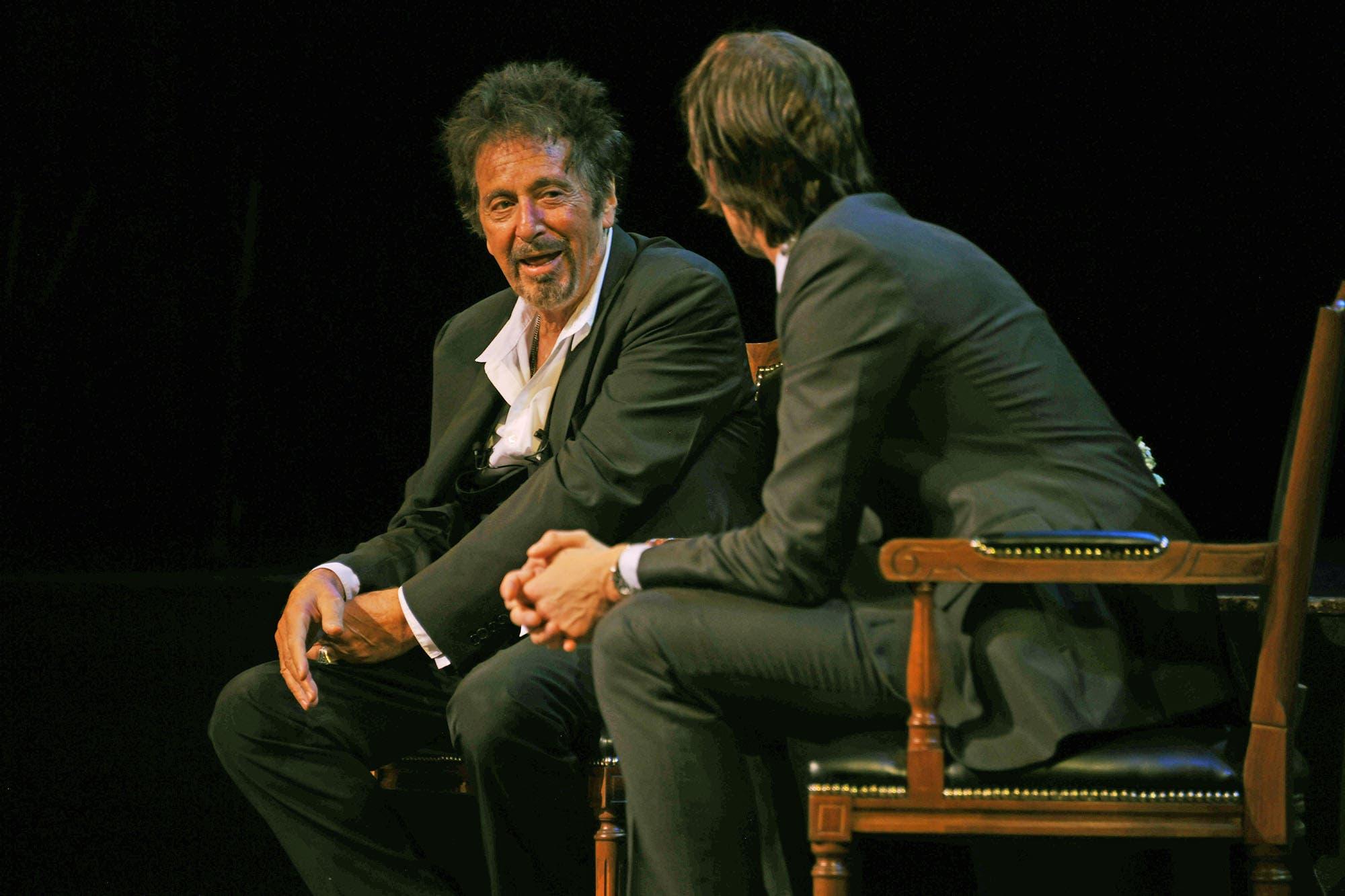 """El lado """"cholulo"""" de Diego Pérez: cómo fue el emotivo encuentro con su ídolo, Al Pacino"""