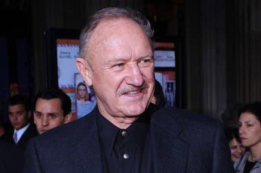 Gene Hackman, en una de sus últimas apariciones públicas