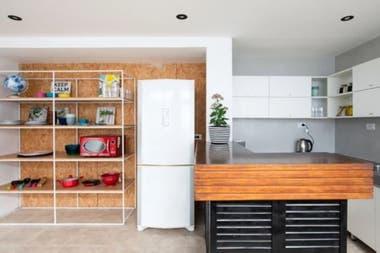 En Casa Nica, en Palermo,ofrecen alojamiento de hasta 10 personas por piso, en habitaciones individuales