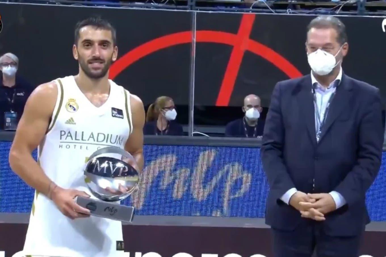 Supercopa de España. Facundo Campazzo fue otra vez el MVP en un nuevo título para Real Madrid