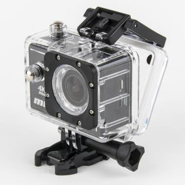 Compañera de aventuras. La cámara Ride 4K de PCBOX le permitirá a mamá capturar todos los momentos, incluso mientras anda en bicicleta o patina con los rollers. Tiene un lente de 140°, pantalla de 2 pulgadas, se conecta por wifi y su capacidad de almacenamiento interno puede expandirse hasta los 64G