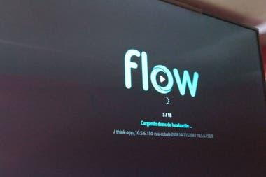 Muchos clientes de Flow subieron el fin de semana a las redes sociales la imagen de la pantalla de la plataforma como testimonio de su caída