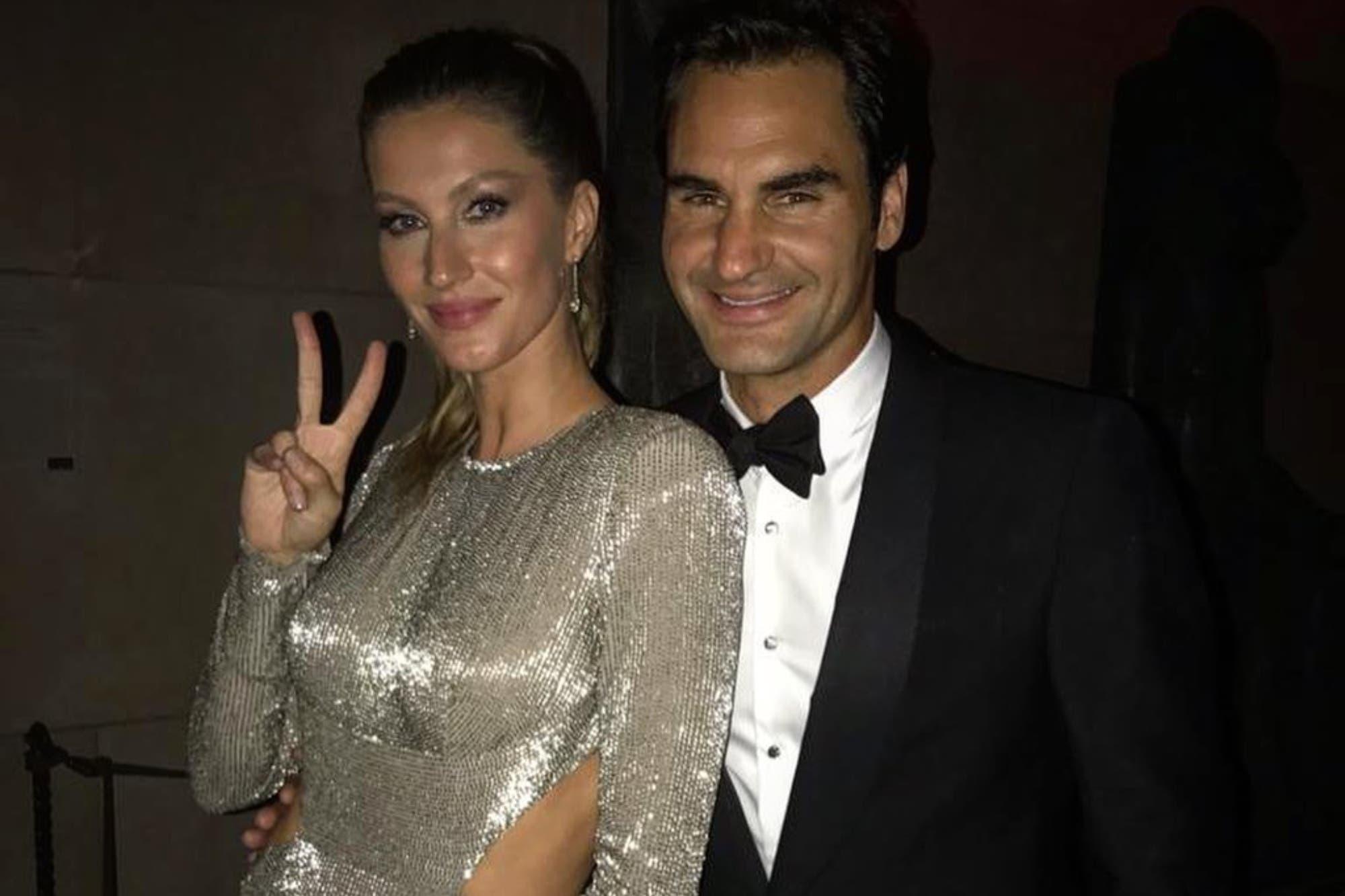 La foto de Roger Federer con Gisele Bündchen que generó revuelo en las redes