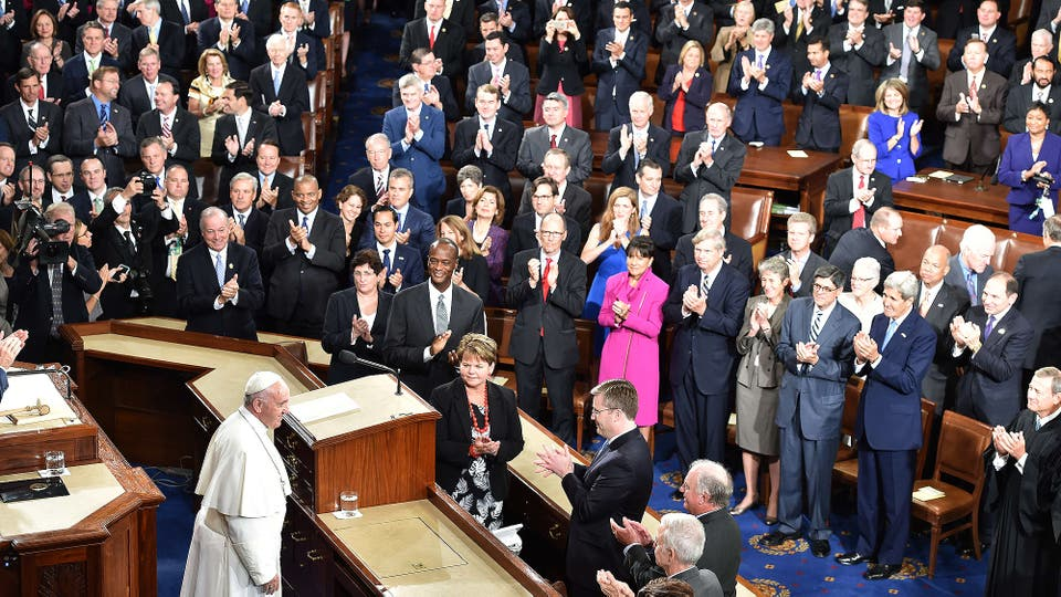 Resultado de imagen para discurso del papa en el congreso de estados unidos