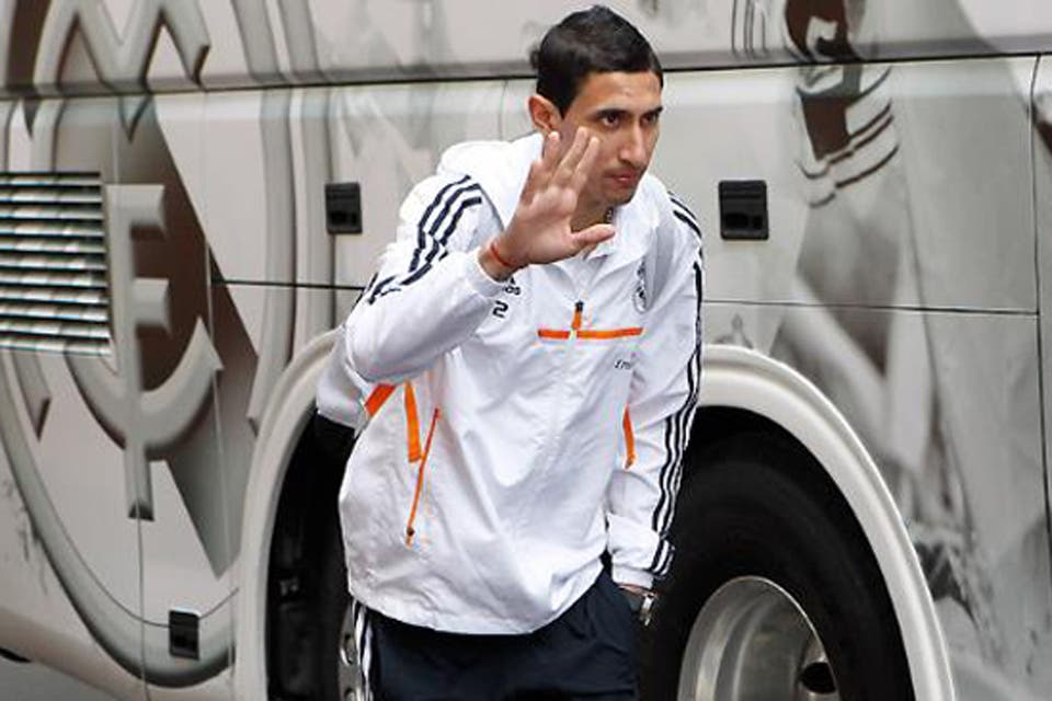 Real Madrid Descarto A Angel Di Maria Para El Partido Contra