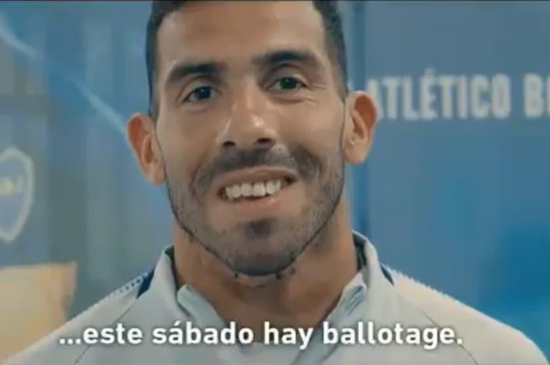 """""""Hay ballotage"""", el video de la AFA que promociona la súperfinal de la Copa Libertadores"""