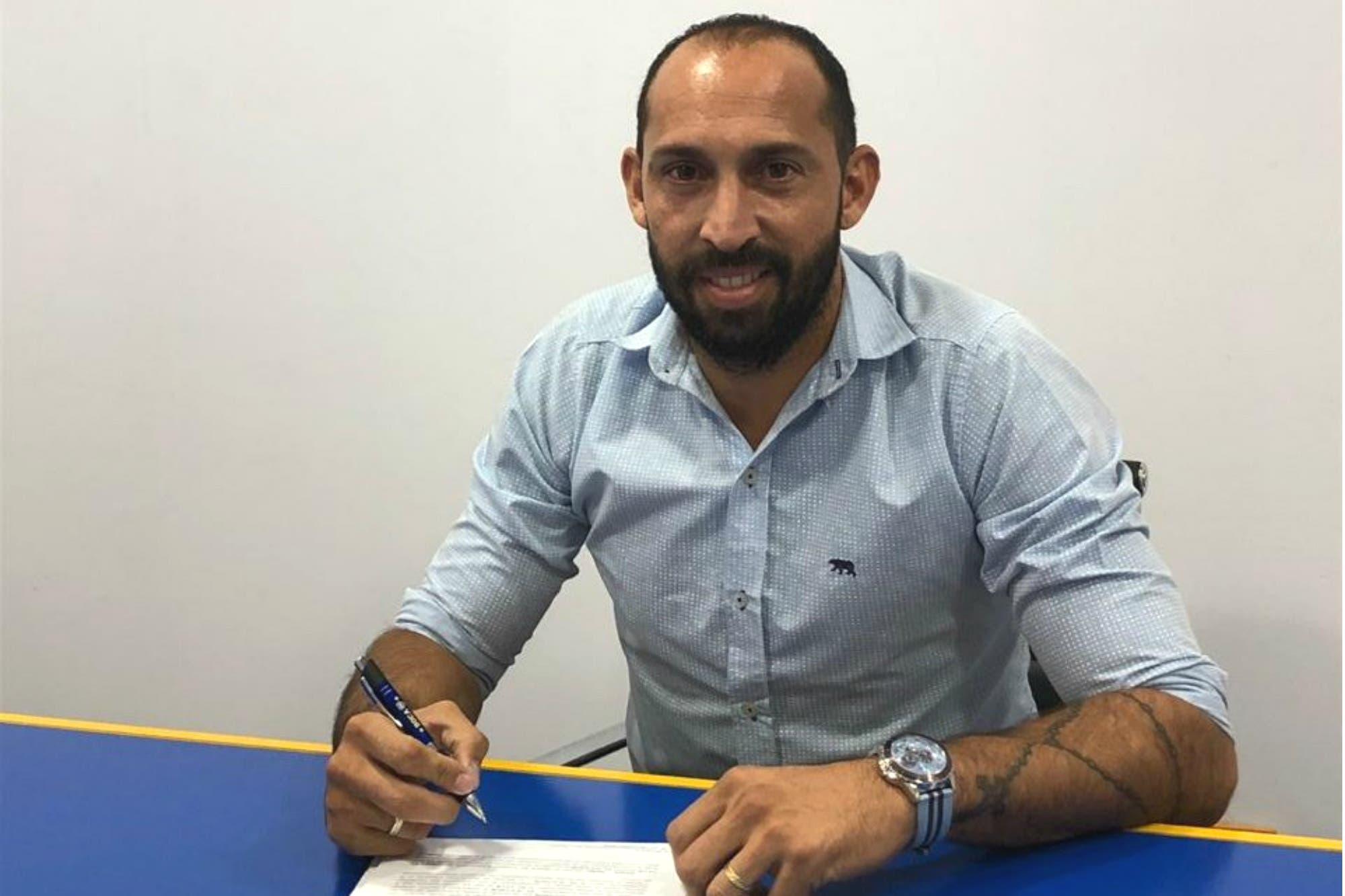 Es oficial: Marcos Díaz es el nuevo refuerzo en el arco de Boca