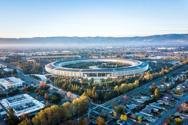 Los headquarters de Apple son uno de los emblemas de Silicon Valley