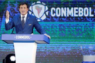 El presidente de la Conmebol, Alejandro Domínguez, reafirmó su idea de que las competencias internacionales se reanuden una vez que la pandemia lo permita.
