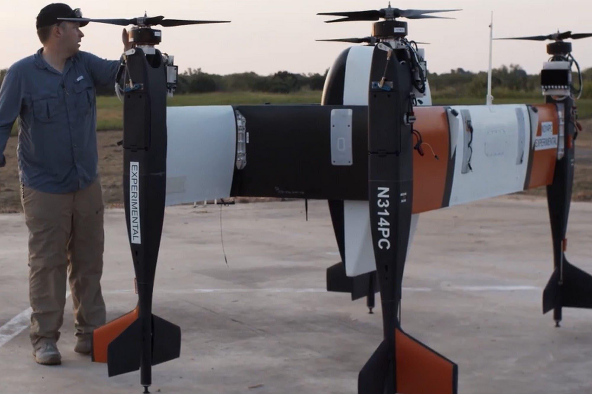 Eléctrico y autónomo: este es el dron Bell APT 70 que lleva cargas de 32 kilos