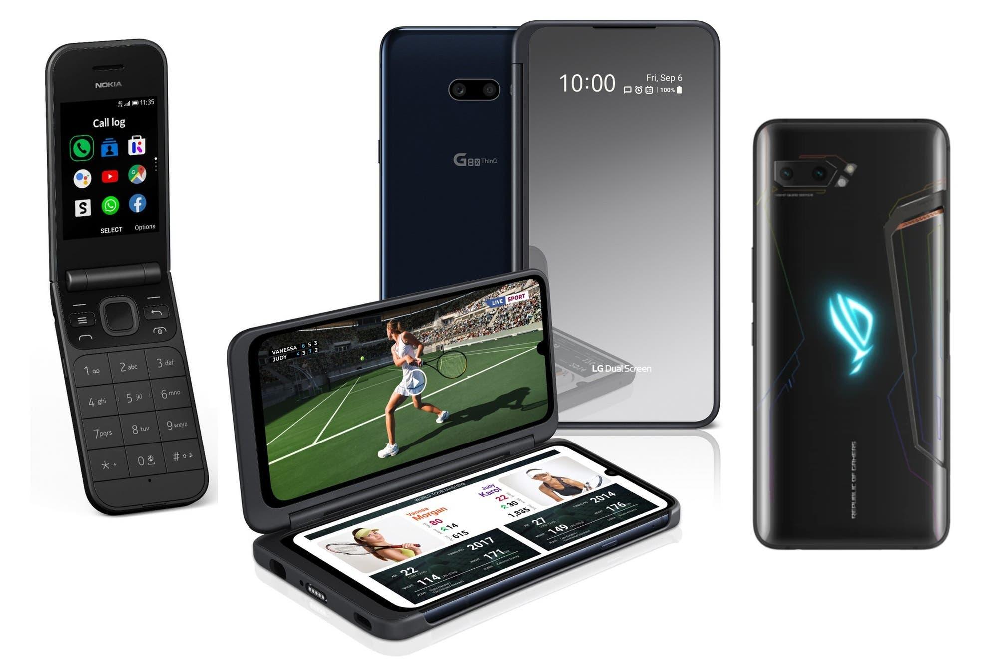 IFA 2019: así son los nuevos teléfonos para gamers, con dos pantallas o varias cámaras