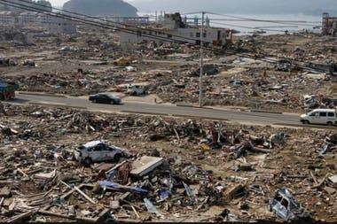 El tsunami de 2011 causó devastación en Japón.