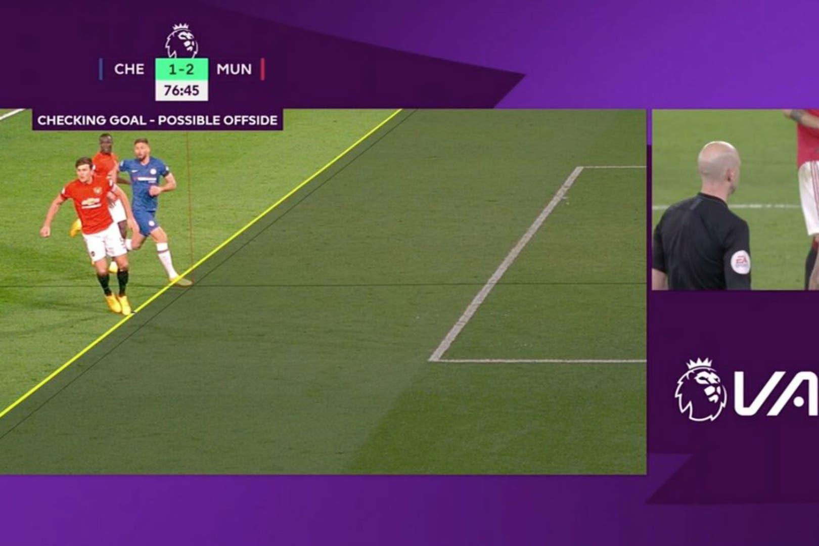 Al delantero de Chelsea Olivier Giroud le anularon el gol del descuento ante Manchester United el lunes por tener medio pie delante de la línea del último defensor. Esto trajo la polémica sobre si la ley del off side es justa o no
