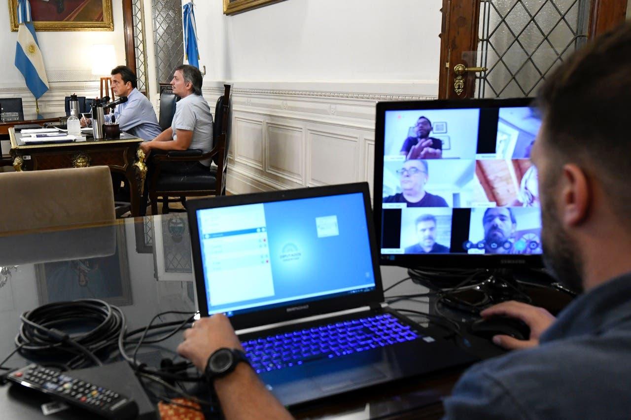Coronavirus en la Argentina: Diputados celebrará mañana la primera sesión telemática de su historia