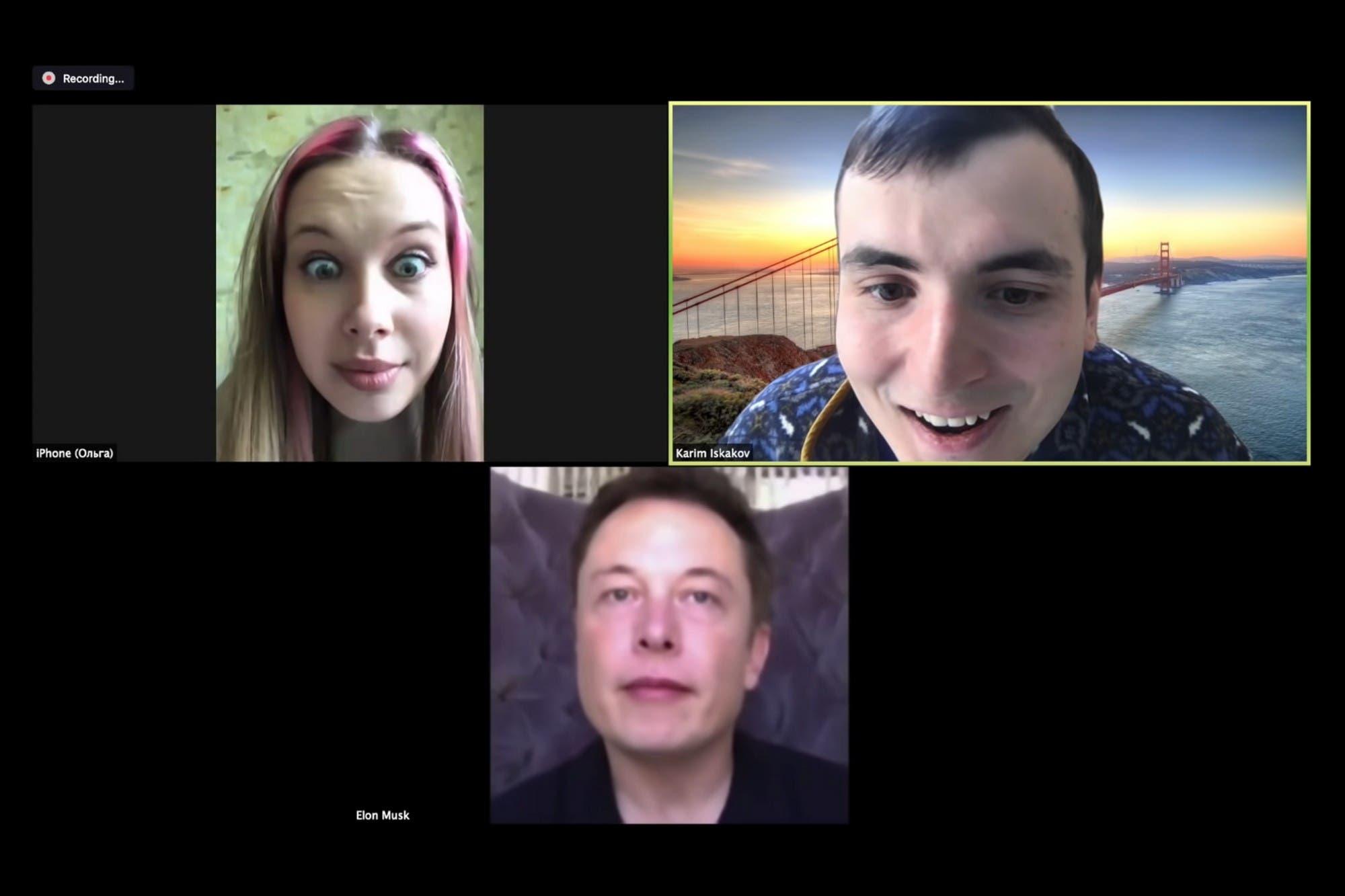 Deep fake: se hizo pasar por Elon Musk en una videollamada por Zoom