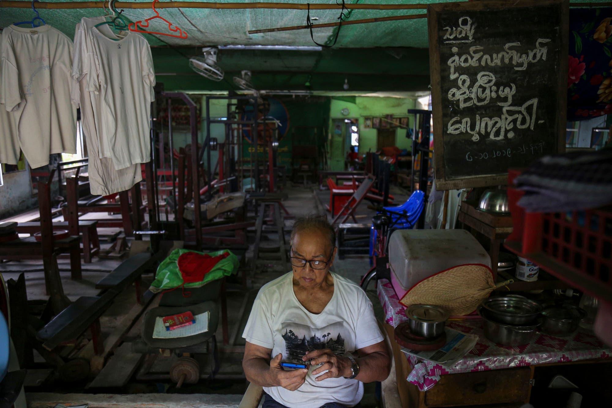 Secreto milenario: el fisicoculturista birmano que sigue levantando pesas a los 91 años