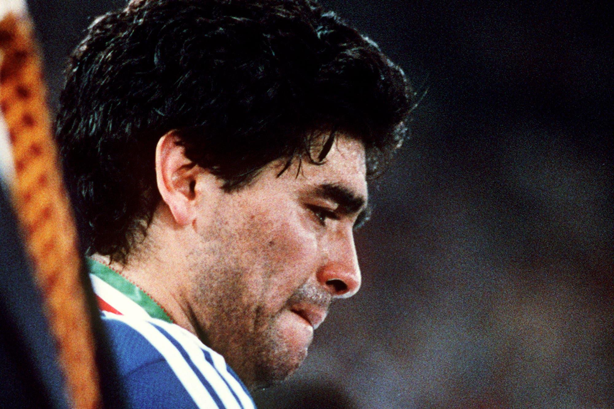 """Italia 90. No lo sabíamos, el 8 de julio fue la escena final de """"El último baile"""" - LA NACION"""
