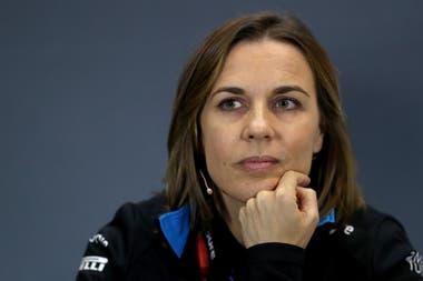 Claire Williams, hija de Frank, es la máxima responsable de la división Fórmula 1 del grupo Williams Grand Prix Holding; la escuadra perdió 10.000.000 de libras esterlinas en 2019.