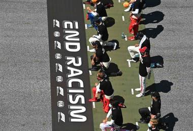 El momento previo al Gran Premio de Austria