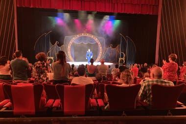 Función de The Ópera Locos, en Madrid, regreso de un musical a los escenarios de los Teatros del Canal