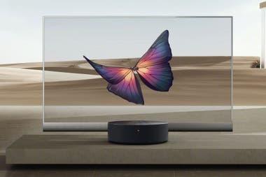 El televisor transparente de Xiaomi, em Mi TV Lux
