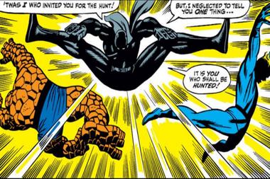Así fue la primera aparición de Pantera negra, en 1966