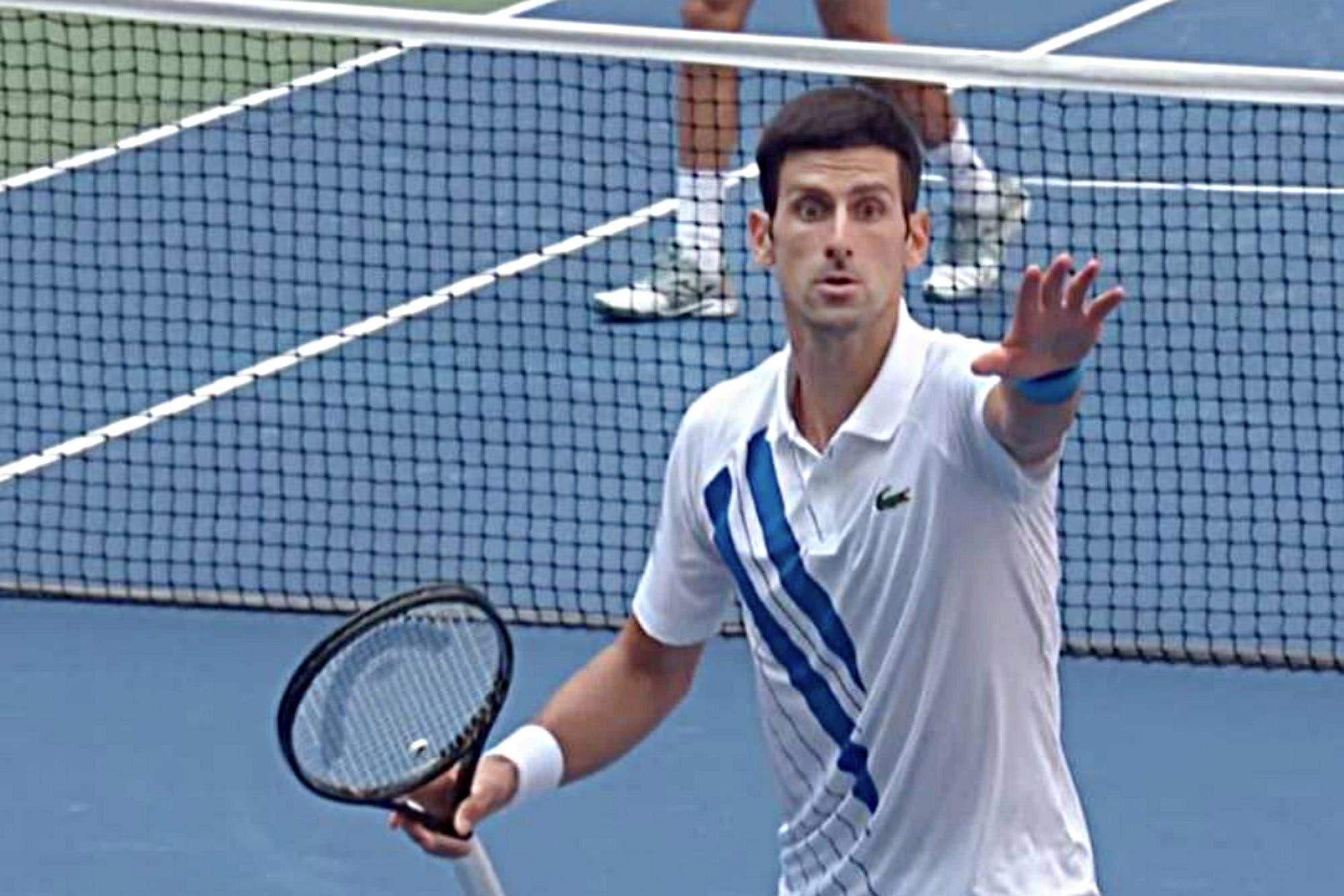 Escándalo en el US Open: la palabra de Novak Djokovic después del incidente con la jueza de línea