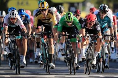 La undécima etapa del Tour de Francia tuvo un final áspero