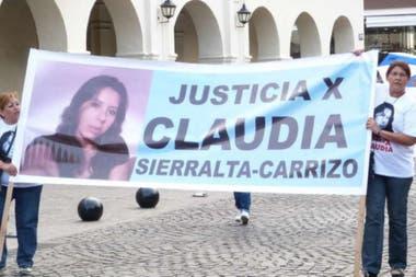 Claudia Sierrasalta Carrizo fue asesinada en 2014 por su expareja, un policía salteño