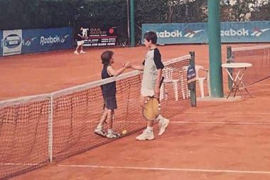 """""""Tres cabezas"""" le sacaban los rivales a Diego Schwartzman cuando era junior, pero el actual 14° del mundo potenció sus recursos y se convirtió en un jugador de categoría."""