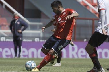 Silvio Romero, goleador de Independiente, fue la diferencia en el segundo partido entre los de Avellaneda y Deportivo Morón. En el primero se había impuesto el Gallo por 2 a 0.