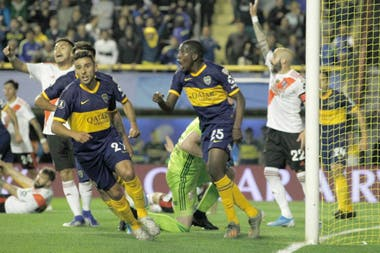 El gol de Hurtado para las semifinales de la Copa Libertadores 2019, en la Bombonera