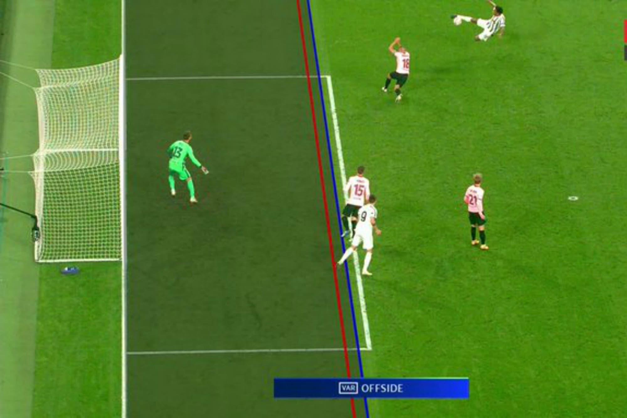 Álvaro Morata, la víctima del VAR: los tres goles que le anularon a Juventus ante Barcelona por la Champions League