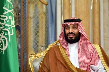 El príncipe heredero saudita Mohammed ben Salman