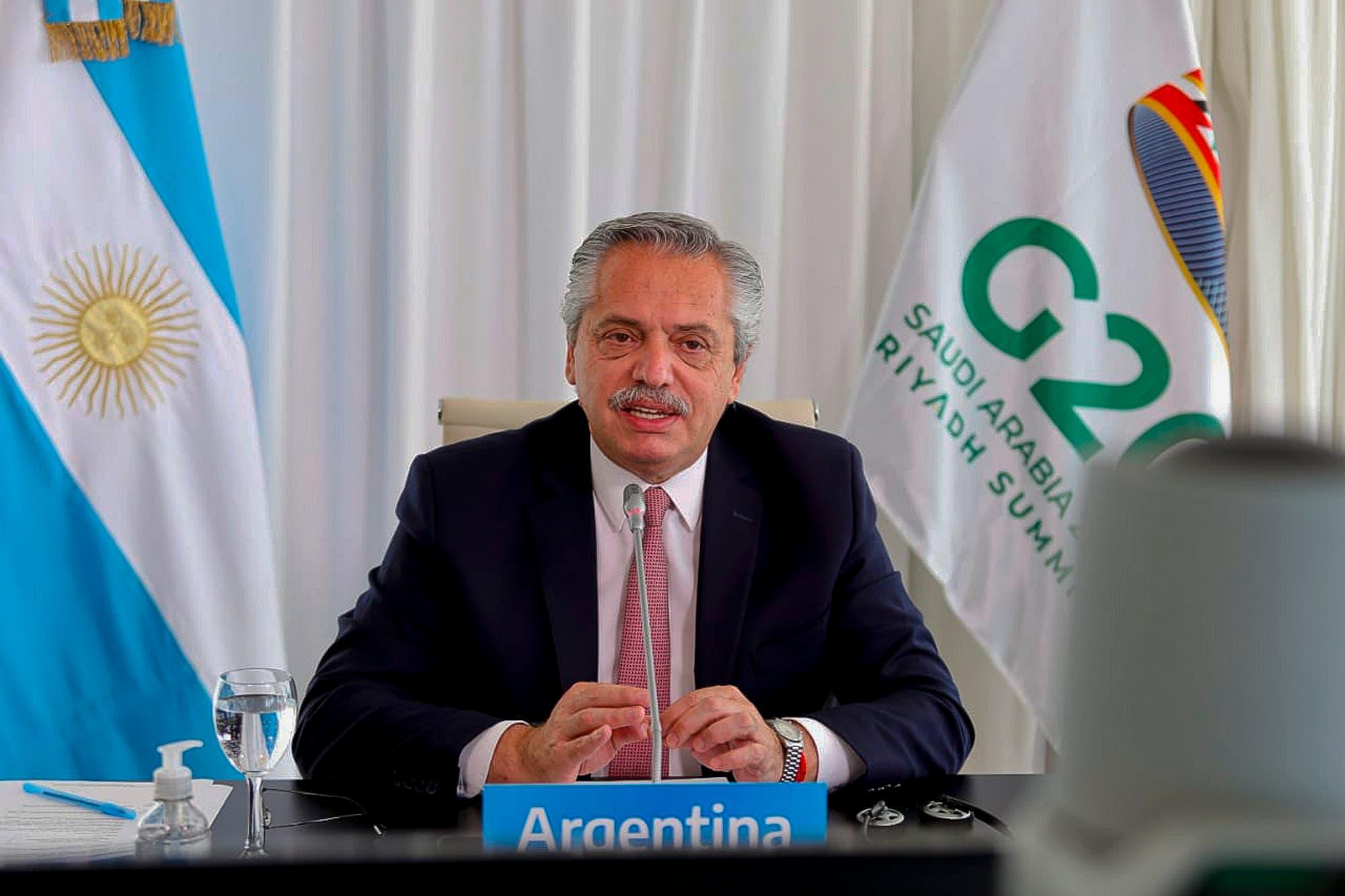 G-20. Alberto Fernández habló de la crisis alimentaria y la importancia de la educación