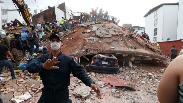 Imágenes del terremoto de México del año pasado