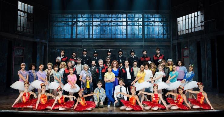 El elenco completo de la versión madrileña de Billy Elliot