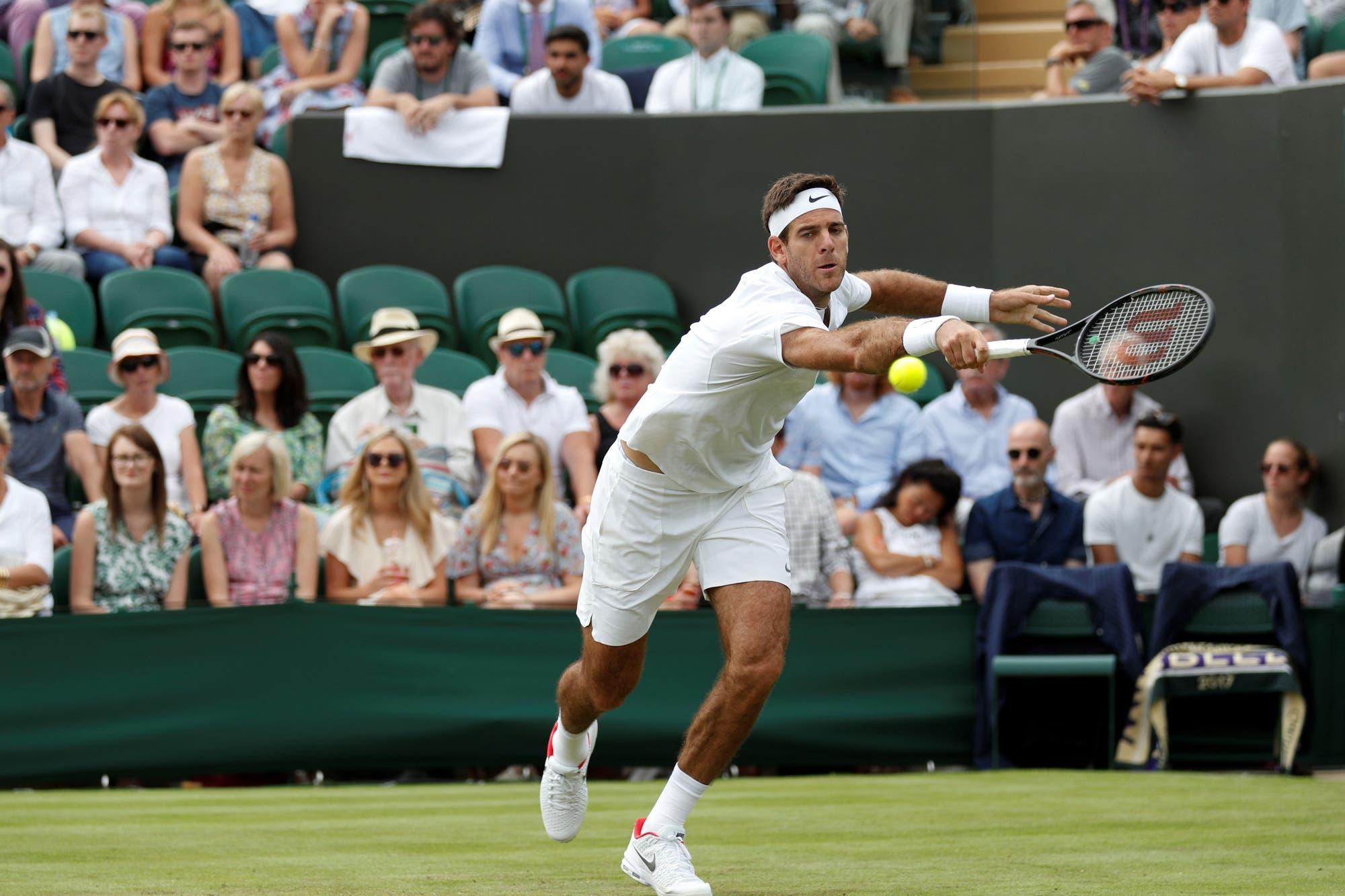 Se sorteó el cuadro de Wimbledon: cómo sería el camino de Juan Martín del Potro en el césped inglés