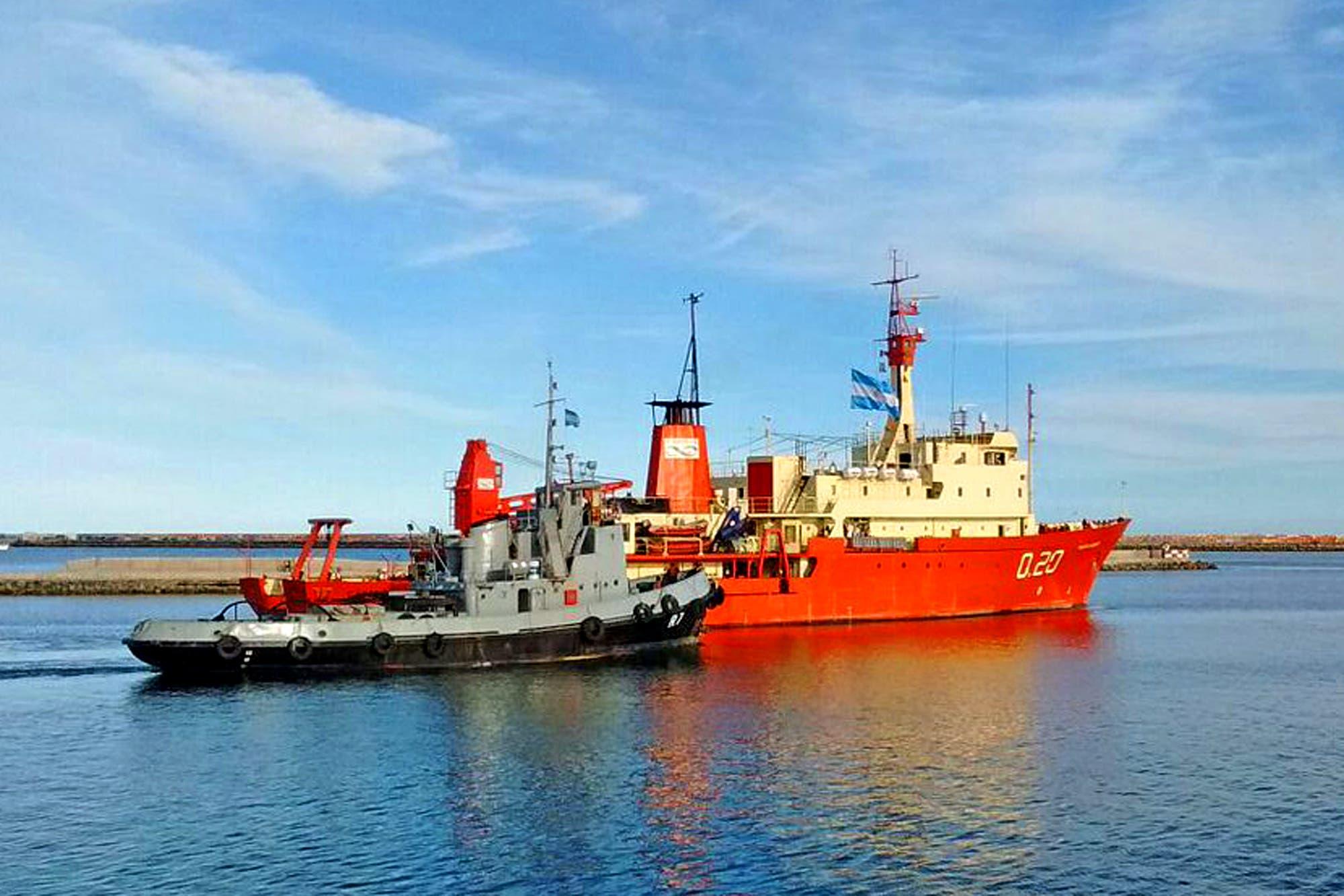 Un buque argentino se acercó a Malvinas por el mal tiempo y la Armada niega un incidente con Gran Bretaña