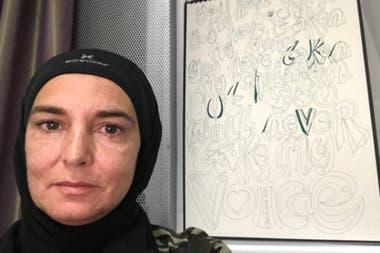 En 2018 Sinead O'Connor se convirtió al islam