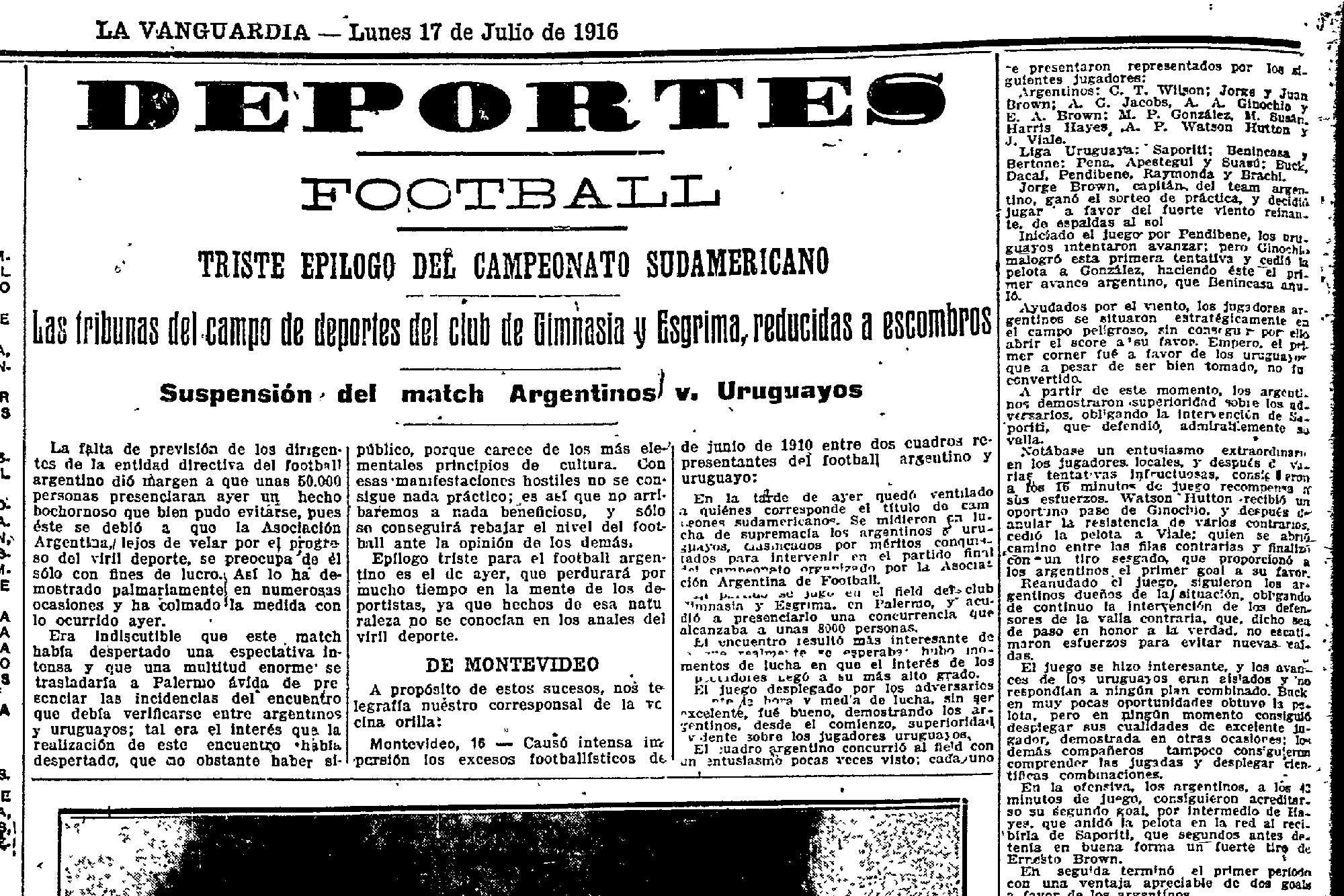 Image result for ESTADIO Gimnasia y esgrima buenos aires 1916