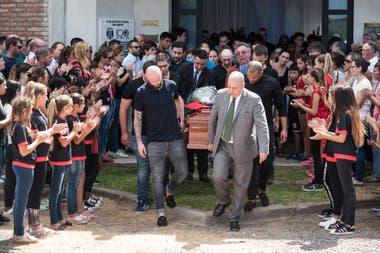 La despedida de Emiliano Sala en el club Progreso