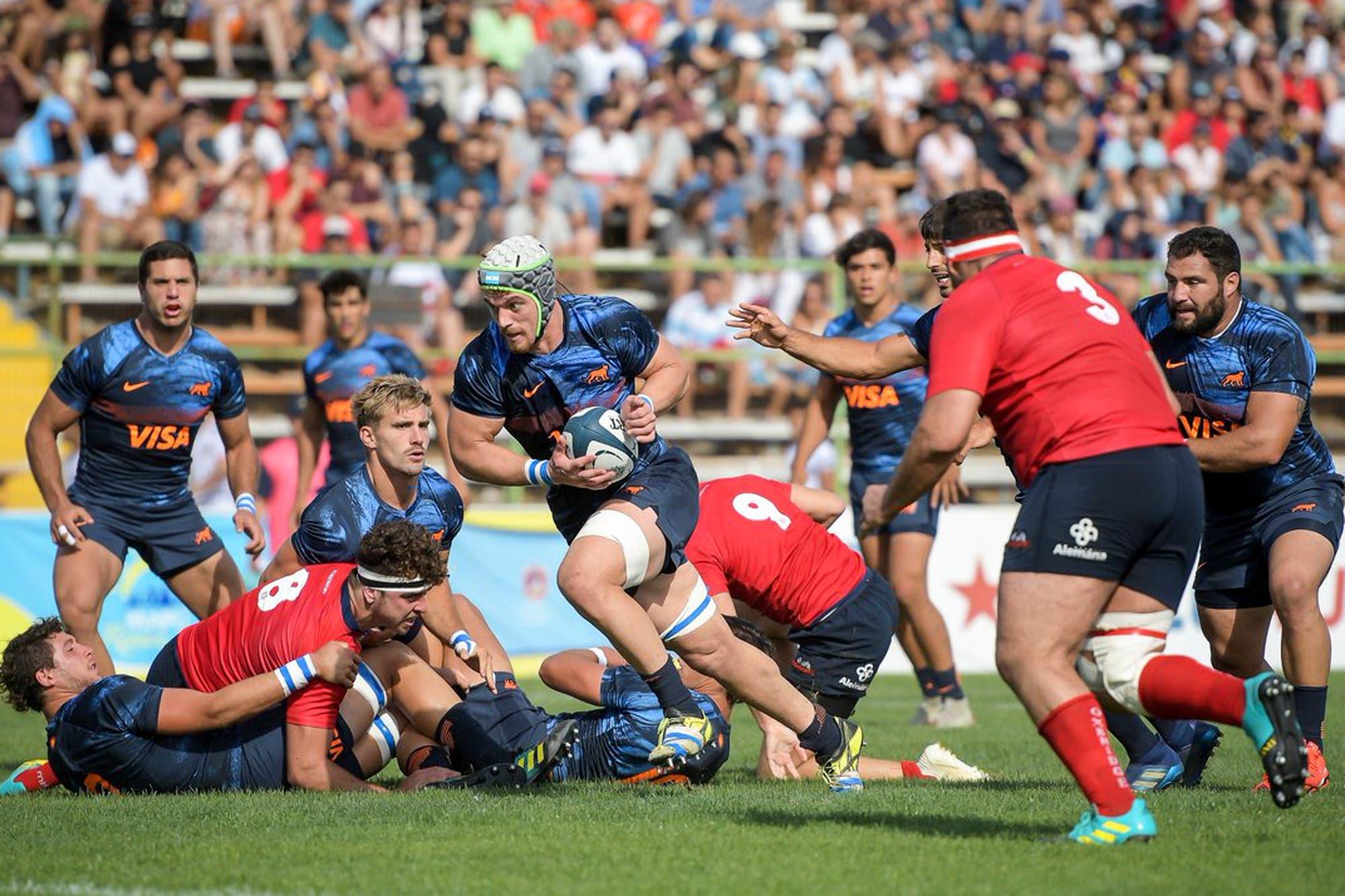 Argentina XV arrasó con Chile y fijó varios récords en el Americas Rugby Championship